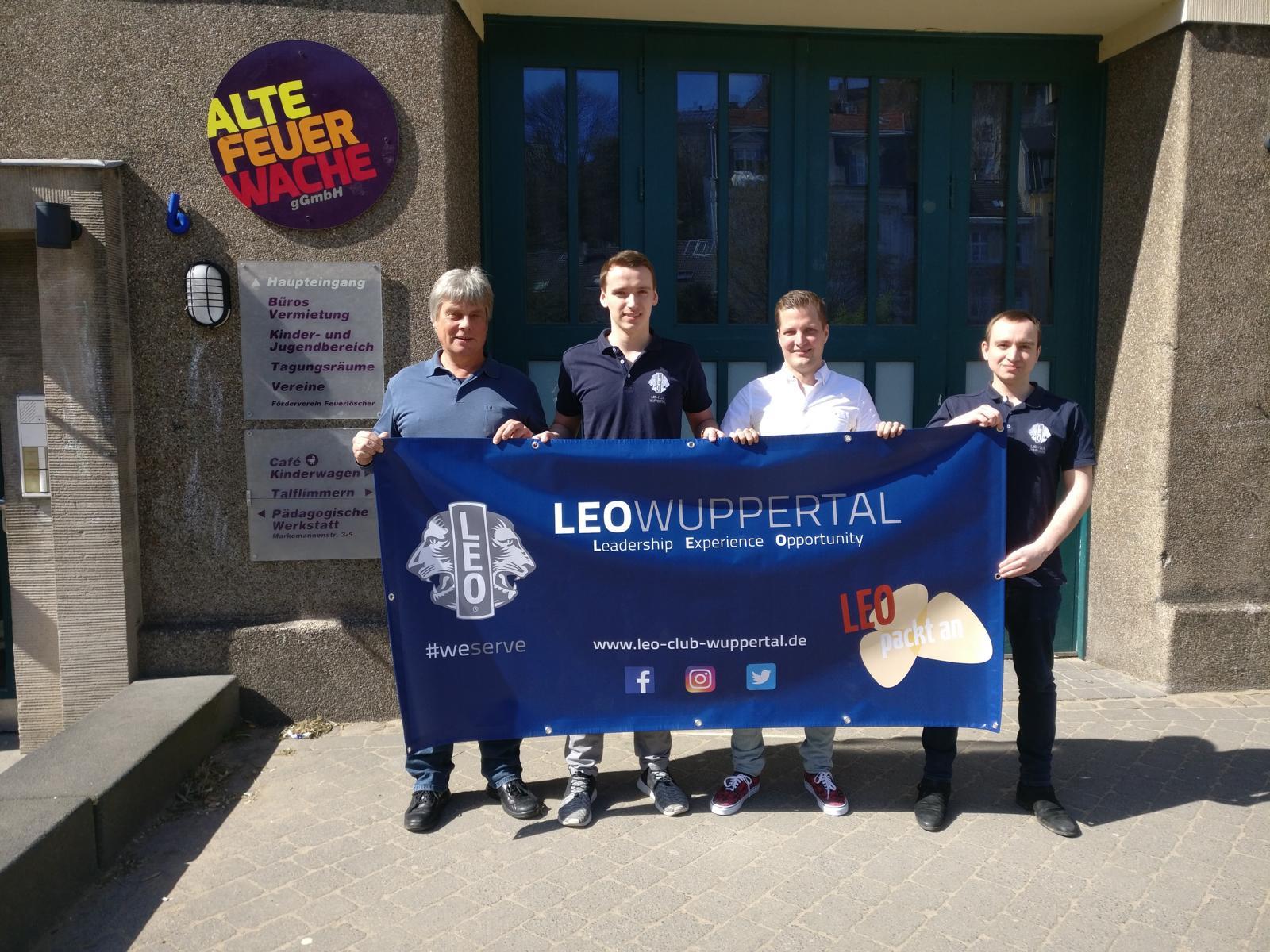 Leos unterstützen weiterhin die 8samkeitsgruppe der Alten Feuerwache